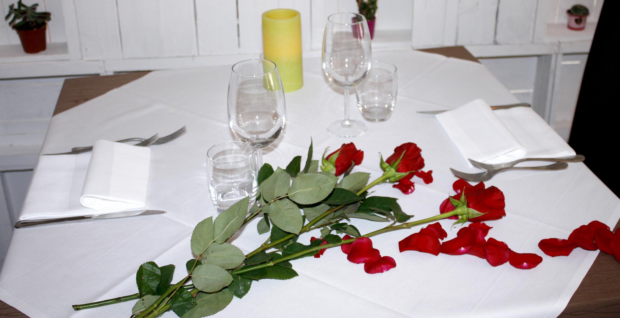 fiori e mise in place