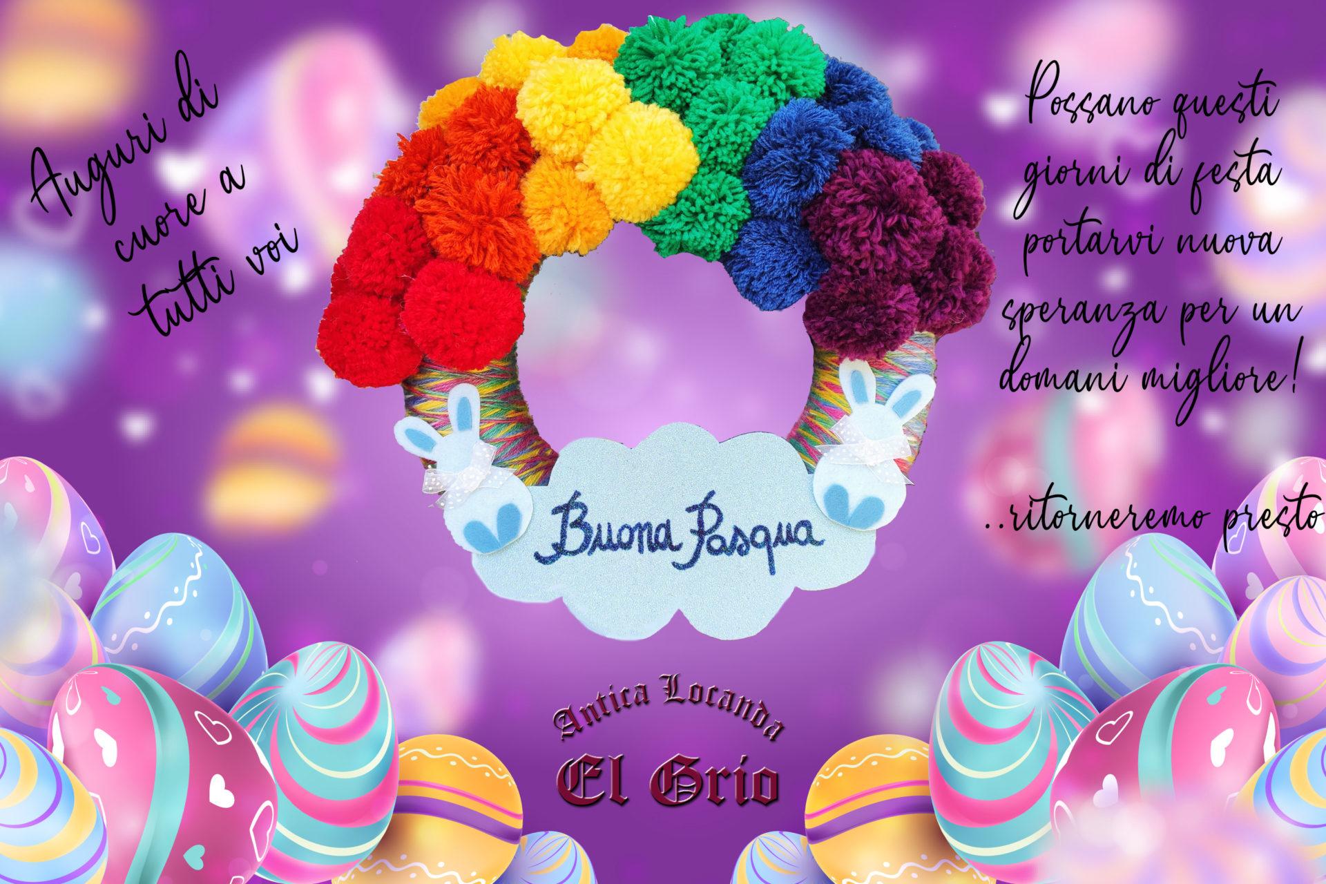 Happy Easter 2020 LocandaElGrio